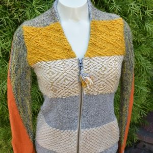 ANTHROPOLOGY SWEATER CHANGE OF THE MOON SZ SMALL